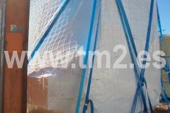 Embalaje con plástico retráctil