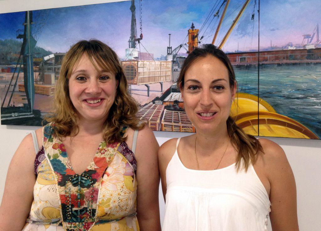 Mónica Jiménez, Subdirectora en TM2 y Maite Rodríguez, Directora Desarrollo de Negocio en Damex