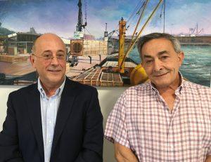 Miguel Ángel Jiménez y Pere Casaubon